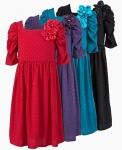 Платье - Платье Sweet Heart Rose красное на 10 лет